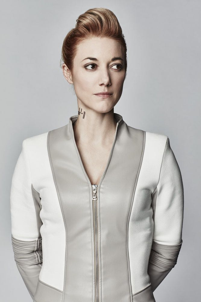 DARK MATTER -- Season:2 -- Pictured: Zoie Palmer as The Android -- (Photo by: Norman Wong/Prodigy Pictures/Syfy)