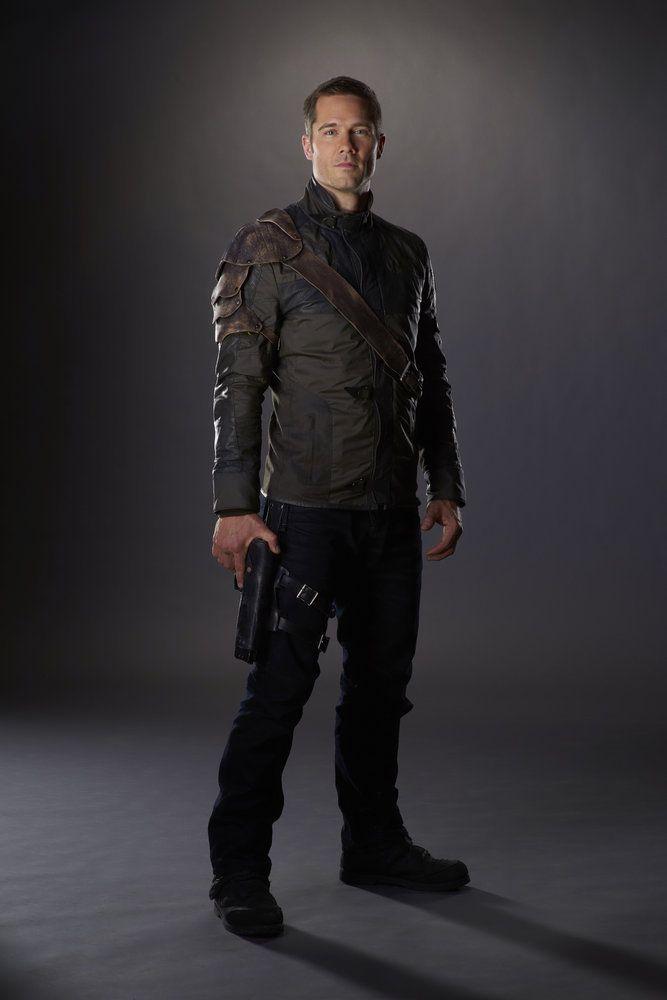 KILLJOYS -- Season:2 -- Pictured: Luke Macfarlane as D'Avin -- (Photo by: Steve Wilkie/Syfy/Killjoys II Productions Limited)