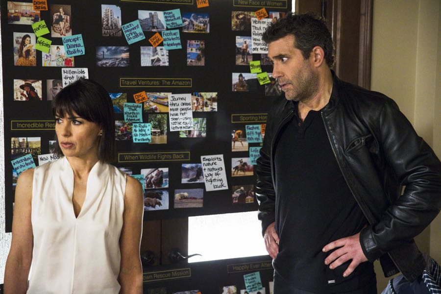 Constance Zimmer and Craig Bierko star in Season 2 of Lifetime's hit drama UnREAL airing, Monday, June 27th at 10pm ET/PT on Lifetime. Photo by James Dittiger Copyright 2016