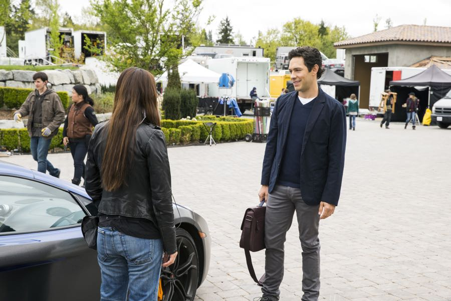 Shiri Appleby and Michael Rady star in Season 2 of Lifetime's hit drama UnREAL airing, Monday, June 27th at 10pm ET/PT on Lifetime. Photo by James Dittiger Copyright 2016