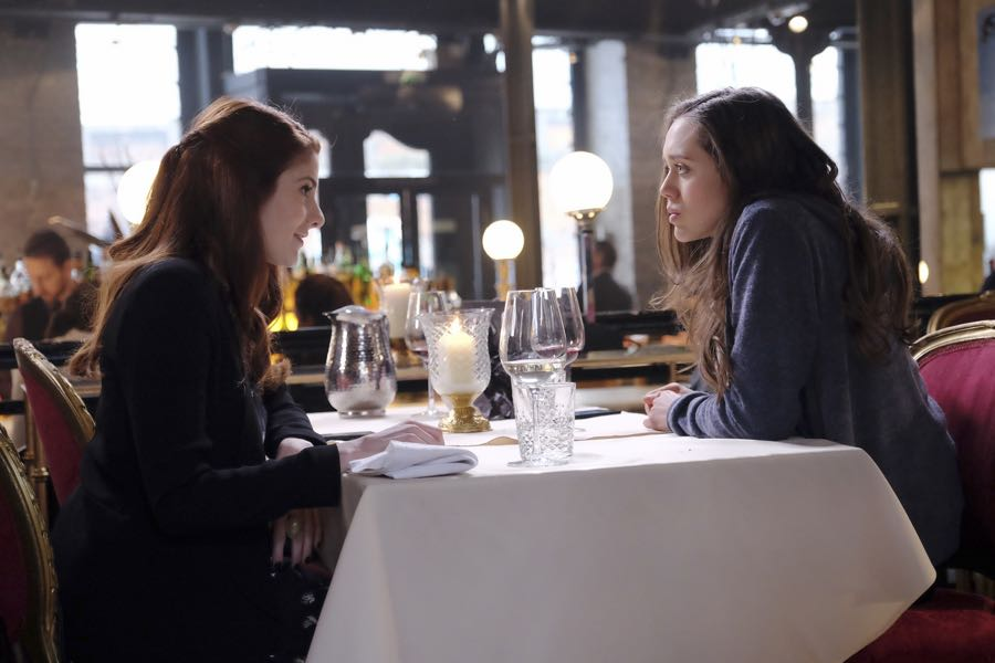 """GUILT - """"#AmericanPsycho"""" - Damning revelations about Grace Atwood continue to mount on an all-new episode of """"Guilt,"""" airing MONDAY, JUNE 20 (9:00 - 10:00 p.m. EDT), on Freeform. (Freeform/Angus Young) EMILY TREMAINE, DAISY HEAD"""