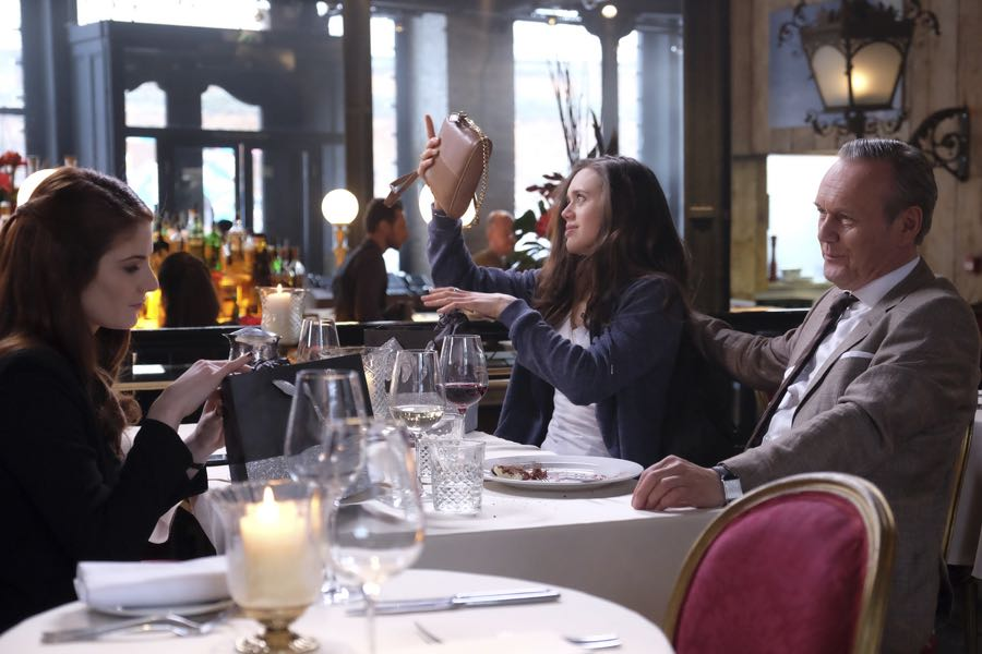 """GUILT - """"#AmericanPsycho"""" - Damning revelations about Grace Atwood continue to mount on an all-new episode of """"Guilt,"""" airing MONDAY, JUNE 20 (9:00 - 10:00 p.m. EDT), on Freeform. (Freeform/Angus Young) EMILY TREMAINE, DAISY HEAD, ANTHONY HEAD"""