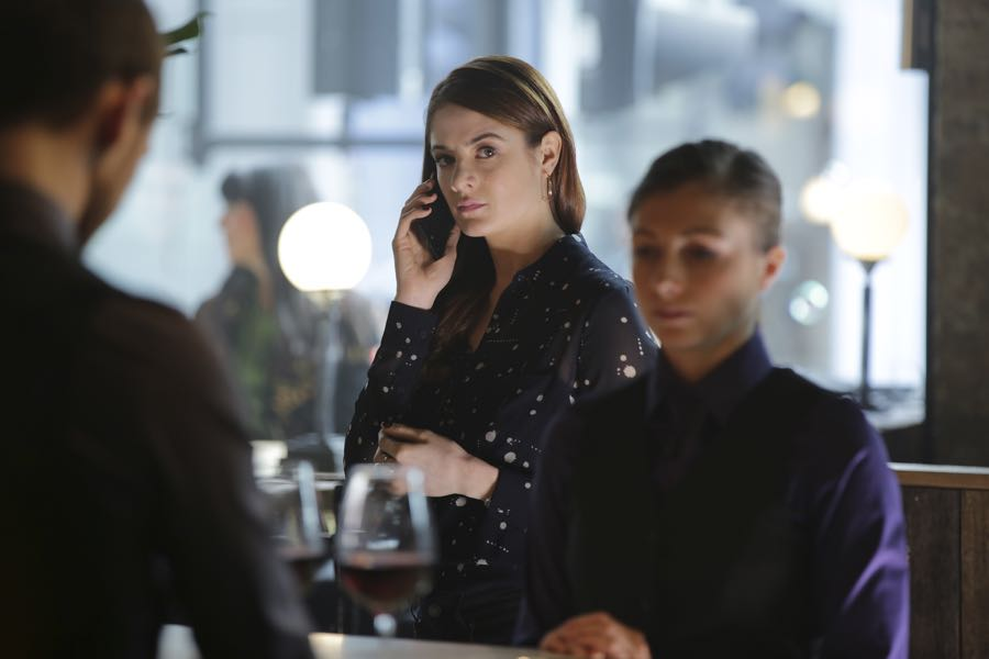 "GUILT - ""#AmericanPsycho"" - Damning revelations about Grace Atwood continue to mount on an all-new episode of ""Guilt,"" airing MONDAY, JUNE 20 (9:00 - 10:00 p.m. EDT), on Freeform. (Freeform/Angus Young) EMILY TREMAINE"