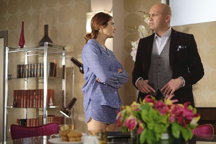 """GUILT - """"#AmericanPsycho"""" - Damning revelations about Grace Atwood continue to mount on an all-new episode of """"Guilt,"""" airing MONDAY, JUNE 20 (9:00 - 10:00 p.m. EDT), on Freeform. (Freeform/Nick Ray) EMILY TREMAINE, BILLY ZANE"""