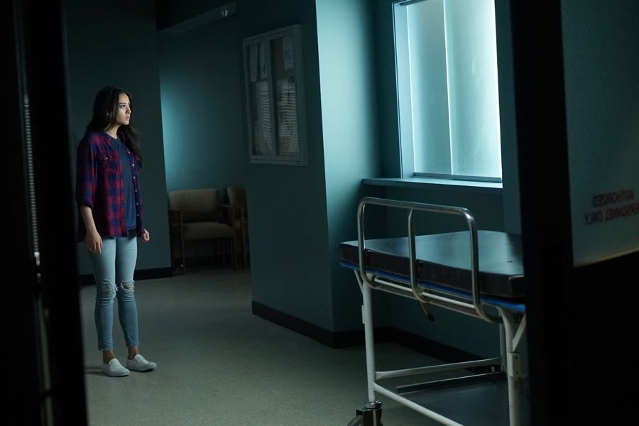 "PRETTY LITTLE LIARS - ""Bedlam"" - The PLLs worry Ali is being tortured by ""Uber A"" and turn to a potential enemy for help in ""Bedlam,"" an all-new episode of Freeform's hit original series ""Pretty Little Liars,"" airing TUESDAY, JUNE 28 (8:00 - 9:00 p.m. EDT). (Freeform/Eric McCandless) SHAY MITCHELL"