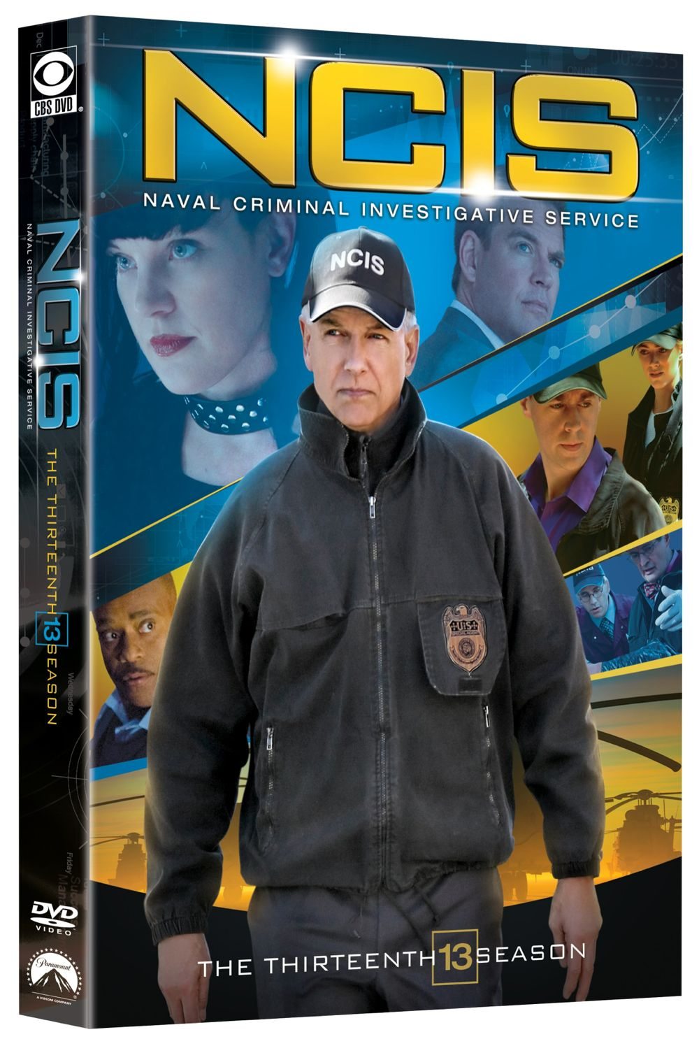 NCIS Season 13 DVD Cover 3D