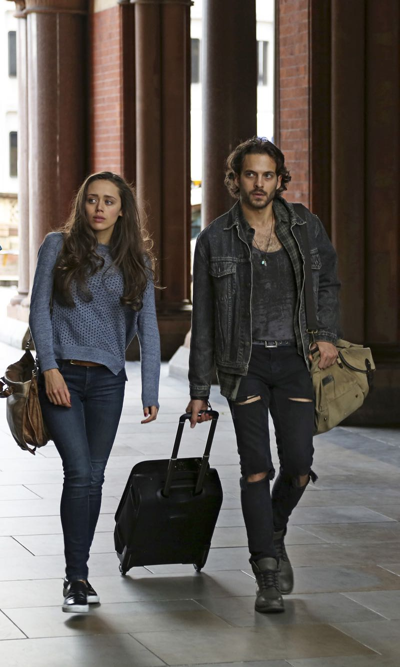 """GUILT - """"Pilot"""" - When a young woman is brutally murdered in her London flat, the search for her killer leads to scandal and intrigue stretching all the way from underground sex clubs to the highest levels of the Royal Family, in the series premiere of """"Guilt,"""" airing MONDAY, JUNE 13 (9:00–10:00 p.m. EDT), on Freeform. - (Freeform/Nick Ray) DAISY HEAD, ZACHARY FALL"""