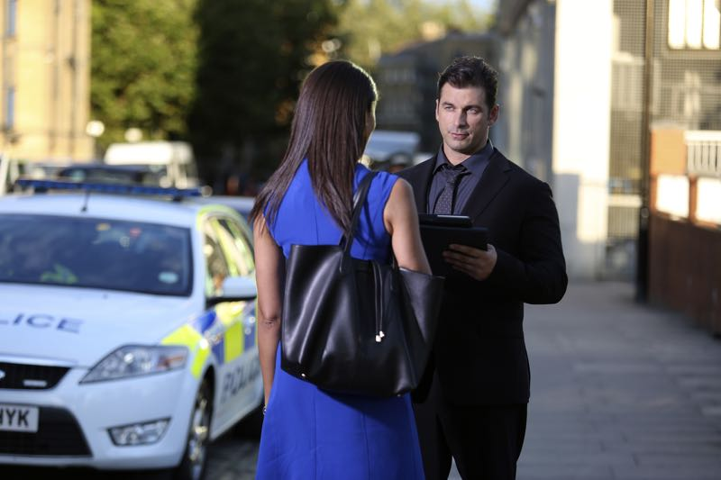 """GUILT - """"Pilot"""" - When a young woman is brutally murdered in her London flat, the search for her killer leads to scandal and intrigue stretching all the way from underground sex clubs to the highest levels of the Royal Family, in the series premiere of """"Guilt,"""" airing MONDAY, JUNE 13 (9:00–10:00 p.m. EDT), on Freeform. - (Freeform/Nick Ray) CRISTIAN SOLIMENO"""