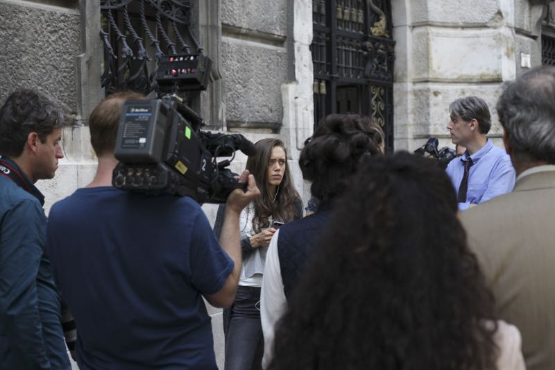"""GUILT - """"Pilot"""" - When a young woman is brutally murdered in her London flat, the search for her killer leads to scandal and intrigue stretching all the way from underground sex clubs to the highest levels of the Royal Family, in the series premiere of """"Guilt,"""" airing MONDAY, JUNE 13 (9:00–10:00 p.m. EDT), on Freeform. - (Freeform/Leo Pinter) DAISY HEAD"""