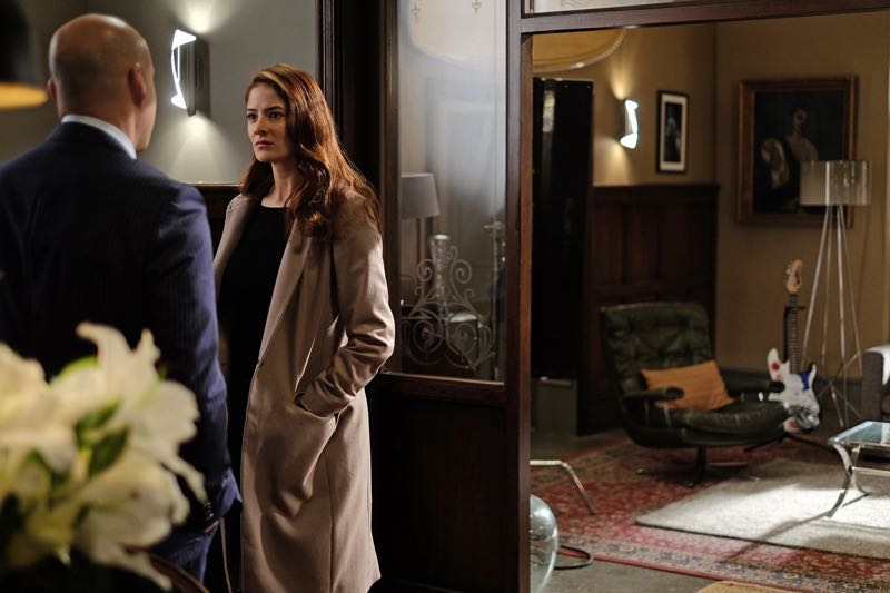 """GUILT - """"Pilot"""" - When a young woman is brutally murdered in her London flat, the search for her killer leads to scandal and intrigue stretching all the way from underground sex clubs to the highest levels of the Royal Family, in the series premiere of """"Guilt,"""" airing MONDAY, JUNE 13 (9:00–10:00 p.m. EDT), on Freeform. (Freeform/Nick Ray) EMILY TREMAINE"""