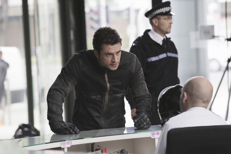 """GUILT - """"Pilot"""" - When a young woman is brutally murdered in her London flat, the search for her killer leads to scandal and intrigue stretching all the way from underground sex clubs to the highest levels of the Royal Family, in the series premiere of """"Guilt,"""" airing MONDAY, JUNE 13 (9:00–10:00 p.m. EDT), on Freeform. (Freeform/Leo Pinter) CRISTIAN SOLIMENO"""