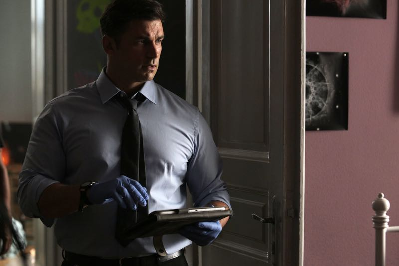 """GUILT - """"Pilot"""" - When a young woman is brutally murdered in her London flat, the search for her killer leads to scandal and intrigue stretching all the way from underground sex clubs to the highest levels of the Royal Family, in the series premiere of """"Guilt,"""" airing MONDAY, JUNE 13 (9:00–10:00 p.m. EDT), on Freeform. - (Freeform/Leo Pinter) CRISTIAN SOLIMENO"""