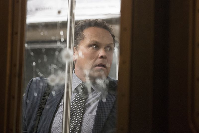 """Return 0"" -- The team must embark on one last suicide mission to prevent Samaritan from destroying The Machine and cementing its hold over mankind, on the series finale of PERSON OF INTEREST, Tuesday, June 21 (10:00 -- 11:00 PM ET/PT) on the CBS Television Network. Pictured: Kevin Chapman as Lionel Fusco Photo: Giovanni Rufino/Warner Bros. Entertainment Inc. ©2016 WBEI. All rights reserved."