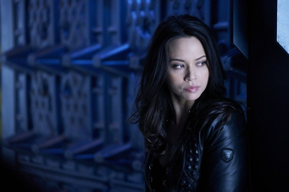 """DARK MATTER -- """"We Should Have Seen This Coming"""" Episode 206 -- Pictured: Melissa O'Neil as Two -- (Photo by: Steve Wilkie/Prodigy Pictures/Syfy)"""