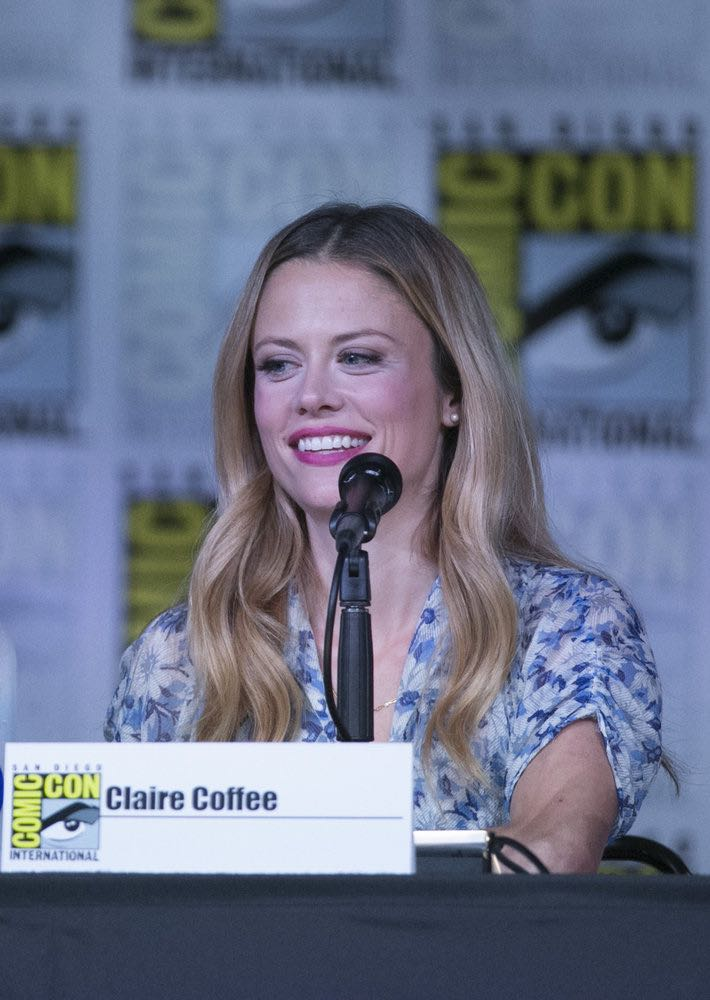"COMIC-CON INTERNATIONAL: SAN DIEGO 2016 -- ""Grimm Panel"" -- Pictured: Claire Coffee, Saturday, July 23, 2016, from the San Diego Convention Center, San Diego, Calif. -- (Photo by: Mark Davis/NBC)"