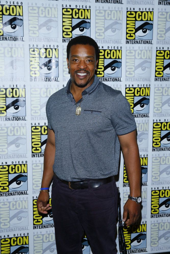 "COMIC-CON INTERNATIONAL: SAN DIEGO 2016 -- ""Grimm Panel and Press Room"" -- Pictured: Russell Hornsby, Friday, July 22, 2016, from the Hilton Bayfront, San Diego, Calif. -- (Photo by: Mark Davis/NBC)"