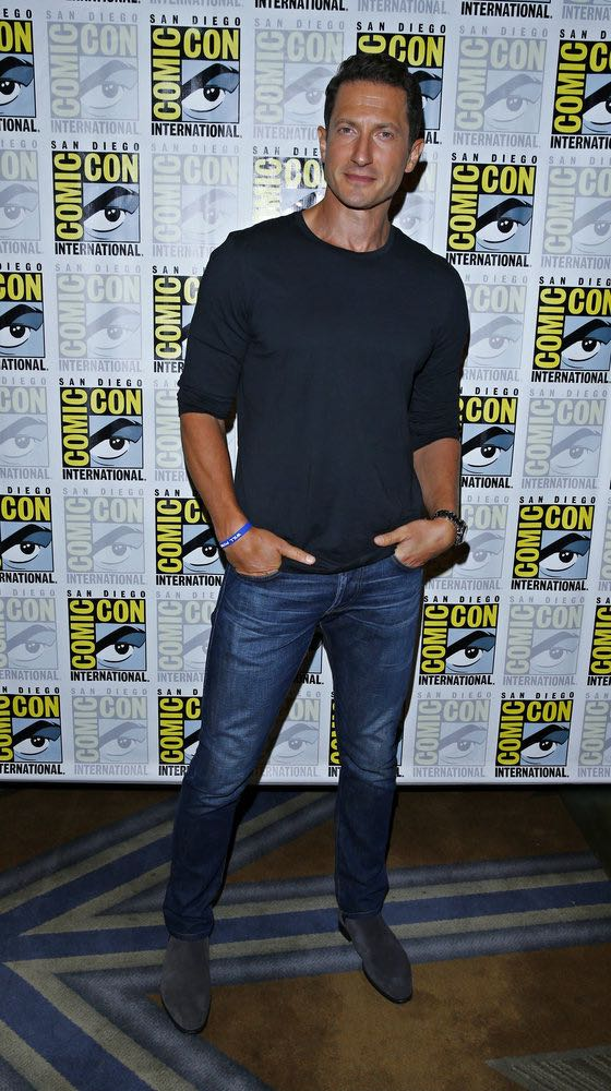 "COMIC-CON INTERNATIONAL: SAN DIEGO 2016 -- ""Grimm Panel and Press Room"" -- Pictured: Sasha Roiz, Friday, July 22, 2016, from the Hilton Bayfront, San Diego, Calif. -- (Photo by: Mark Davis/NBC)"