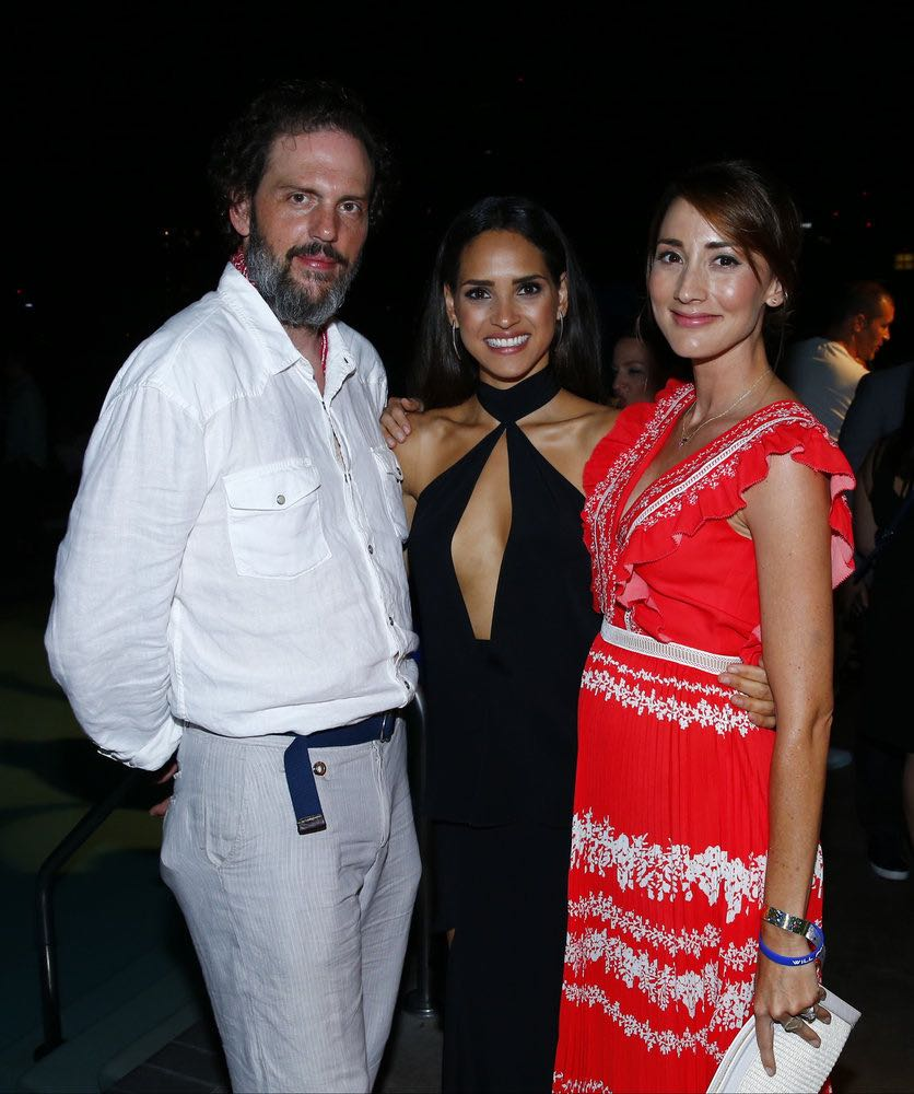 "COMIC-CON INTERNATIONAL: SAN DIEGO 2016 -- 7th Annual NBC @ Comic-Con Party -- Pictured: (l-r) Silas Weir Mitchell, ""Grimm""; Adria Arjona, ""Emerald City""; Bree Turner, ""Grimm"" at the Andaz, San Diego, Calif., Saturday, July 23, 2016 -- (Photo by: Mark Davis/NBC)"