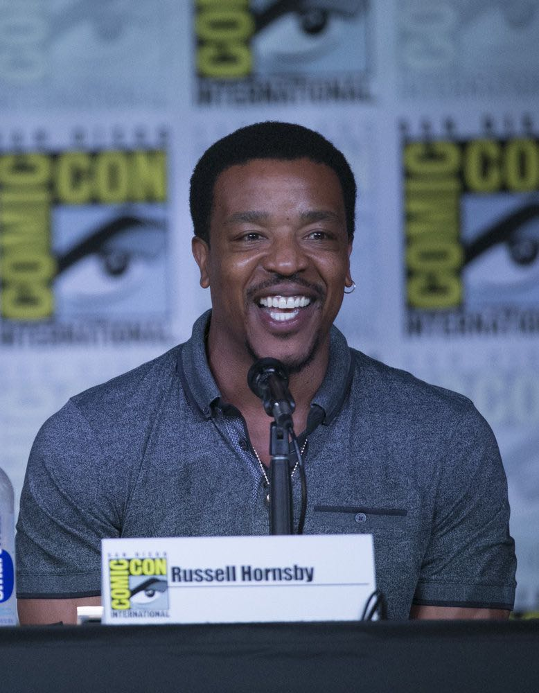 """COMIC-CON INTERNATIONAL: SAN DIEGO 2016 -- """"Grimm Panel"""" -- Pictured: Russell Hornsby, Saturday, July 23, 2016, from the San Diego Convention Center, San Diego, Calif. -- (Photo by: Mark Davis/NBC)"""