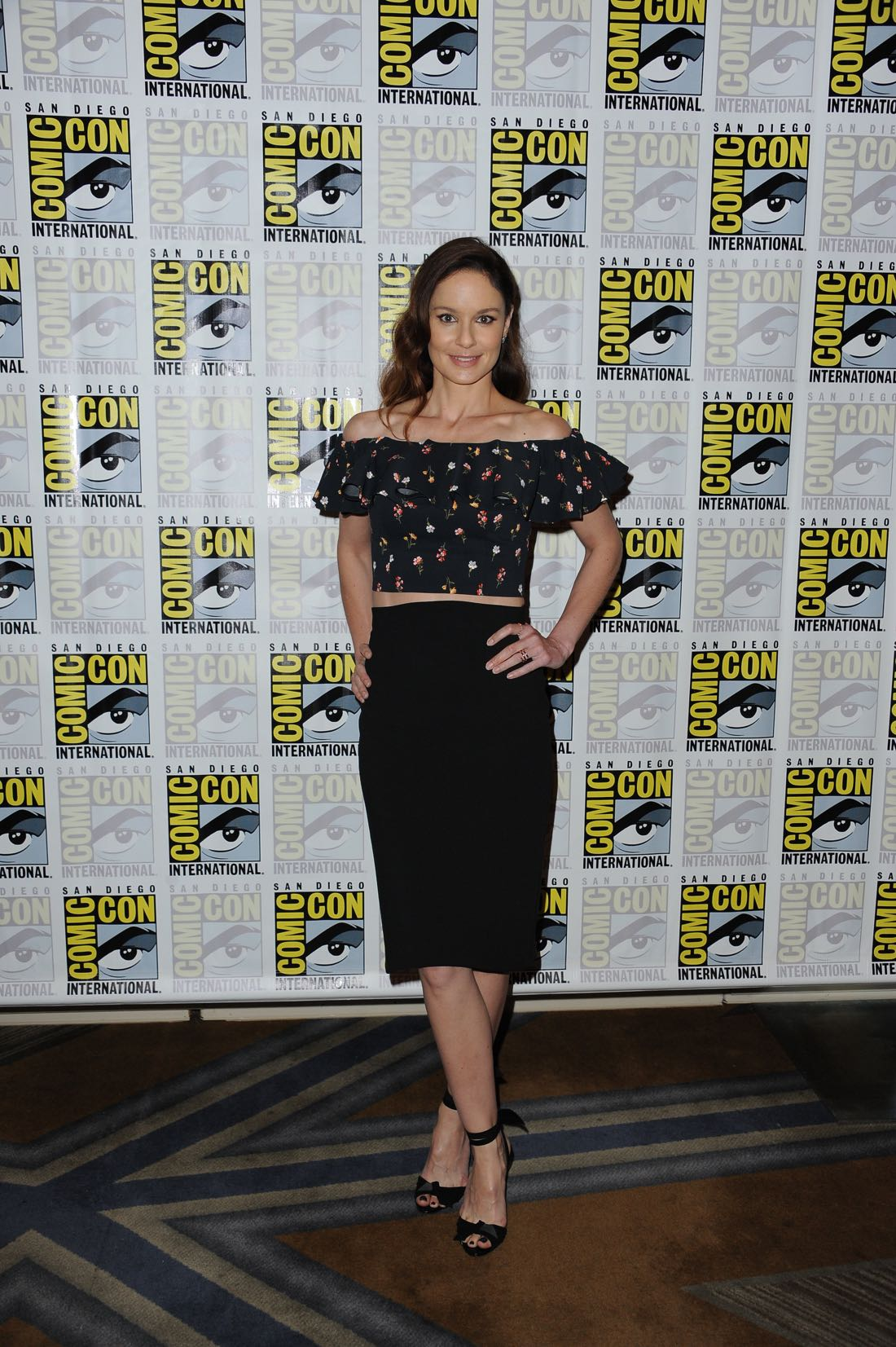 FOX FANFARE AT SAN DIEGO COMIC-CON © 2016: PRISON BREAK cast member Sarah Wayne Callies during the PRISON BREAK press room on Sunday, July 24 at the FOX FANFARE AT SAN DIEGO COMIC-CON © 2016. CR: Scott Kirkland/FOX © 2016 FOX BROADCASTING