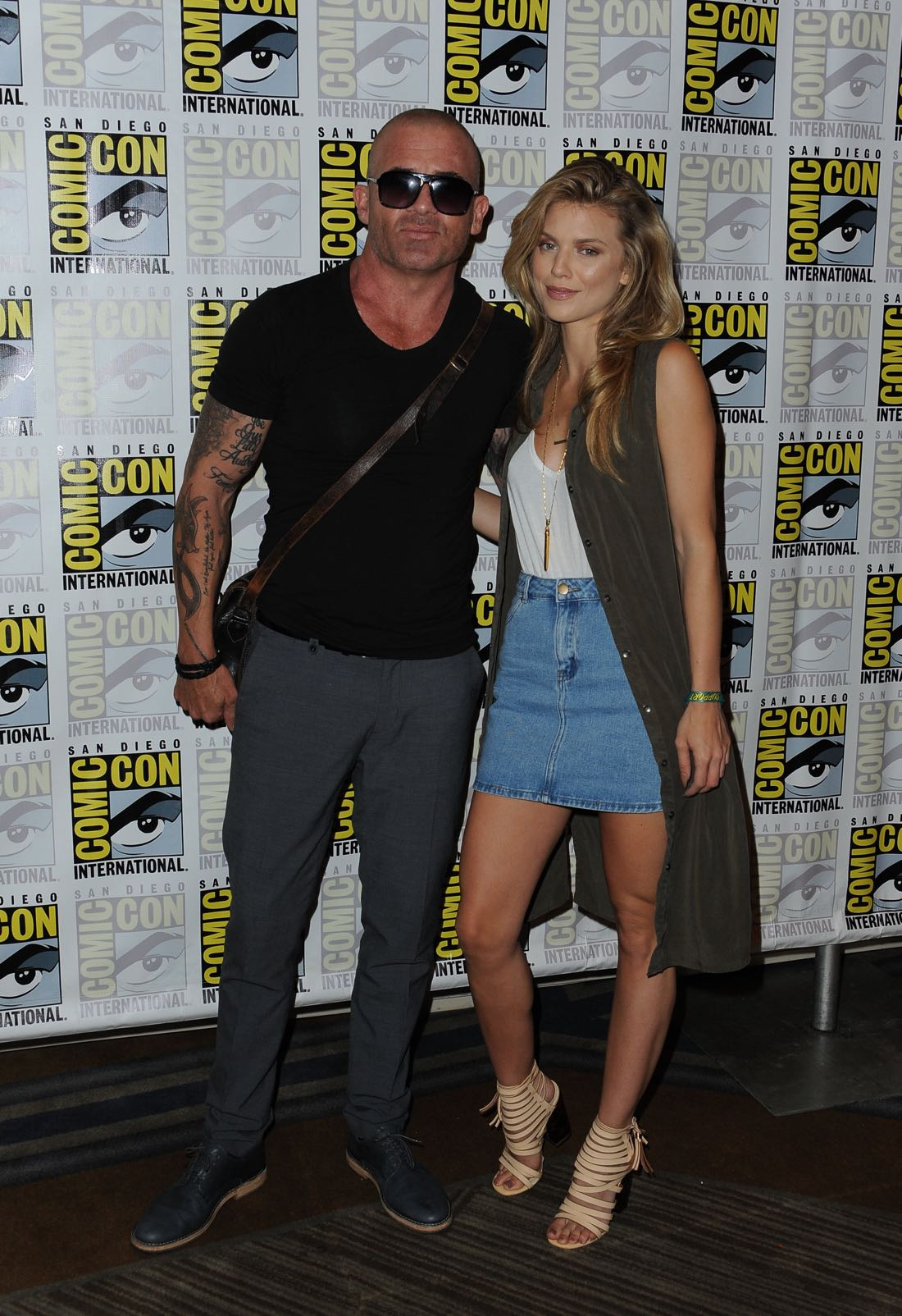 FOX FANFARE AT SAN DIEGO COMIC-CON © 2016: PRISON BREAK cast member Domininc Pucell and AnnaLynne McCord during the PRISON BREAK press room on Sunday, July 24 at the FOX FANFARE AT SAN DIEGO COMIC-CON © 2016. CR: Scott Kirkland/FOX © 2016 FOX BROADCASTING