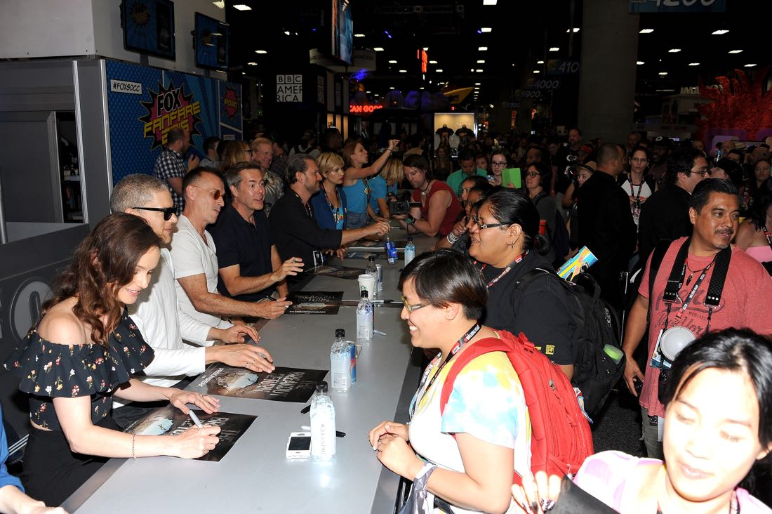 FOX FANFARE AT SAN DIEGO COMIC-CON © 2016: PRISON BREAK during the PRISON BREAK booth signing on Sunday, July 24 at the FOX FANFARE AT SAN DIEGO COMIC-CON © 2016. CR: Scott Kirkland/FOX © 2016 FOX BROADCASTING