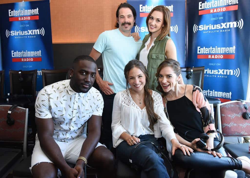 Wynonna Earp Cast Comic Con