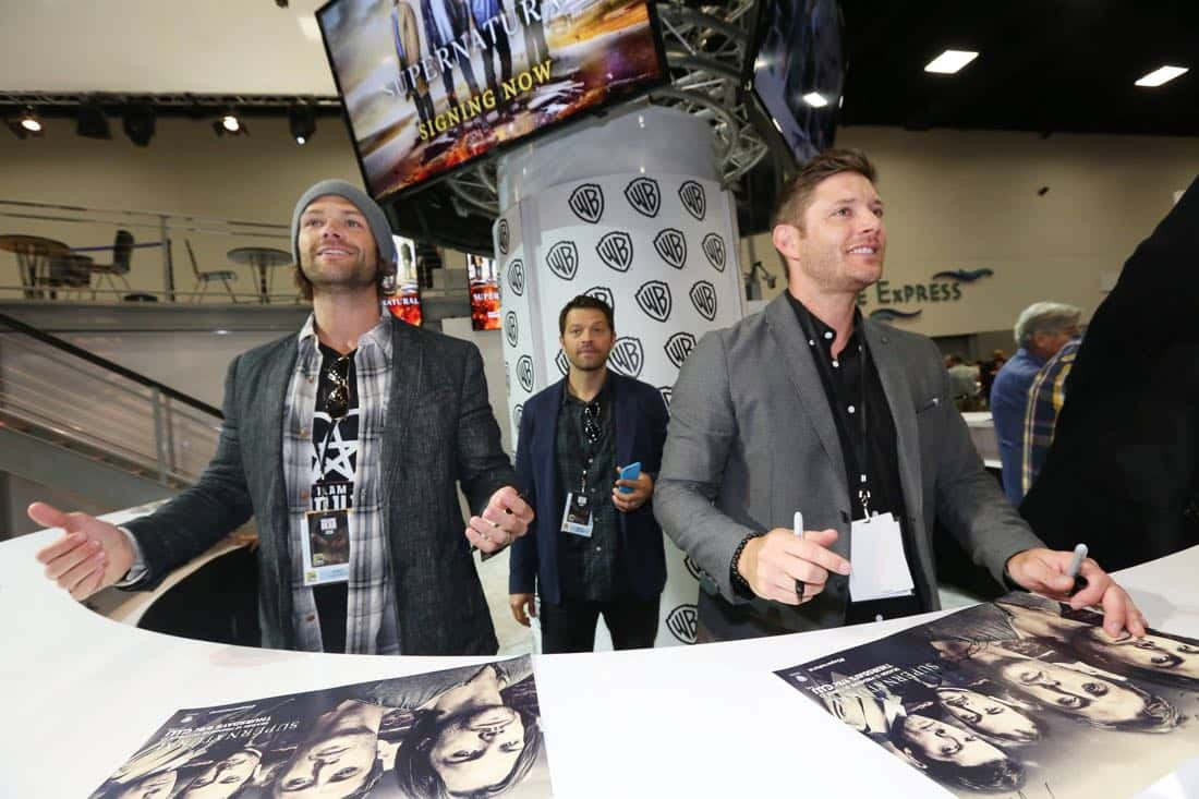 Supernatural San Diego Comic Con 2016 12