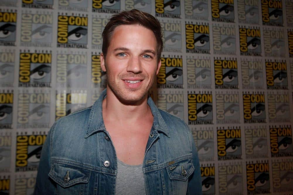 "COMIC-CON INTERNATIONAL: SAN DIEGO 2016 -- ""Timeless"" Press Room -- Pictured: Matt Lanter, Saturday, July 23, 2016, from the Hilton Bayfront, San Diego, Calif. -- (Photo by: David Yeh/NBC)"