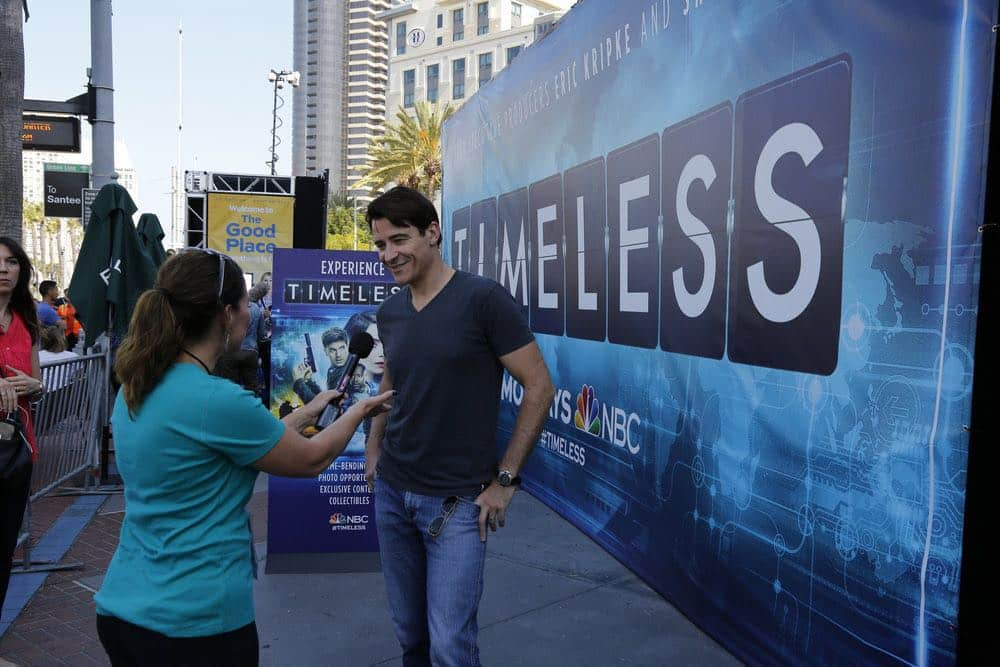 "COMIC-CON INTERNATIONAL: SAN DIEGO 2016 -- ""NBC at Comic-Con"" -- Pictured: Goran Visnjic, ""Timeless"", at the NBC Activation, Tin Fish, San Diego, Calif., July 23, 2016 -- (Photo by: Daniel Cristol/NBC)"