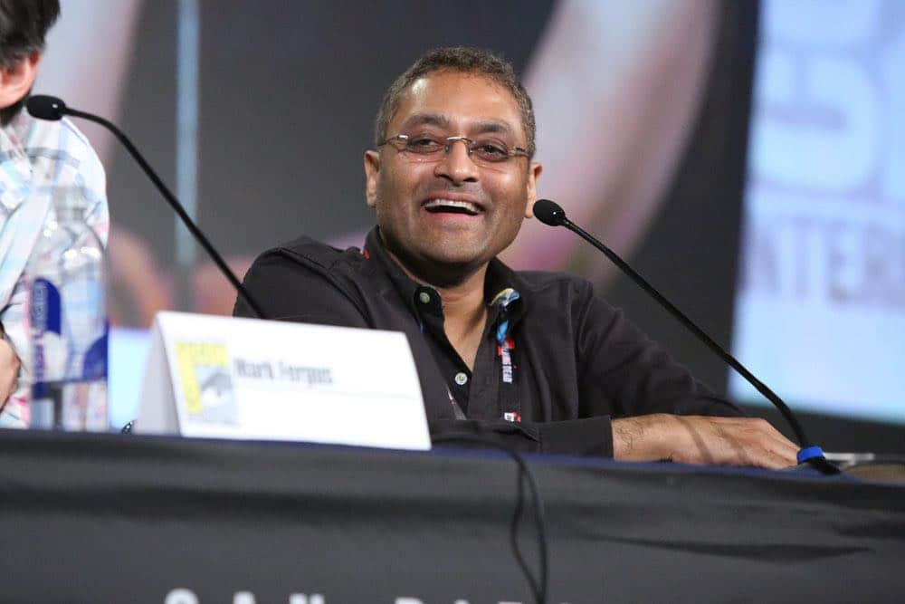 "COMIC-CON INTERNATIONAL: SAN DIEGO -- ""The Expanse Panel"" -- Pictured: Executive Producer Naren Shankar -- (Photo by: Evans Vestal Ward/Syfy)"