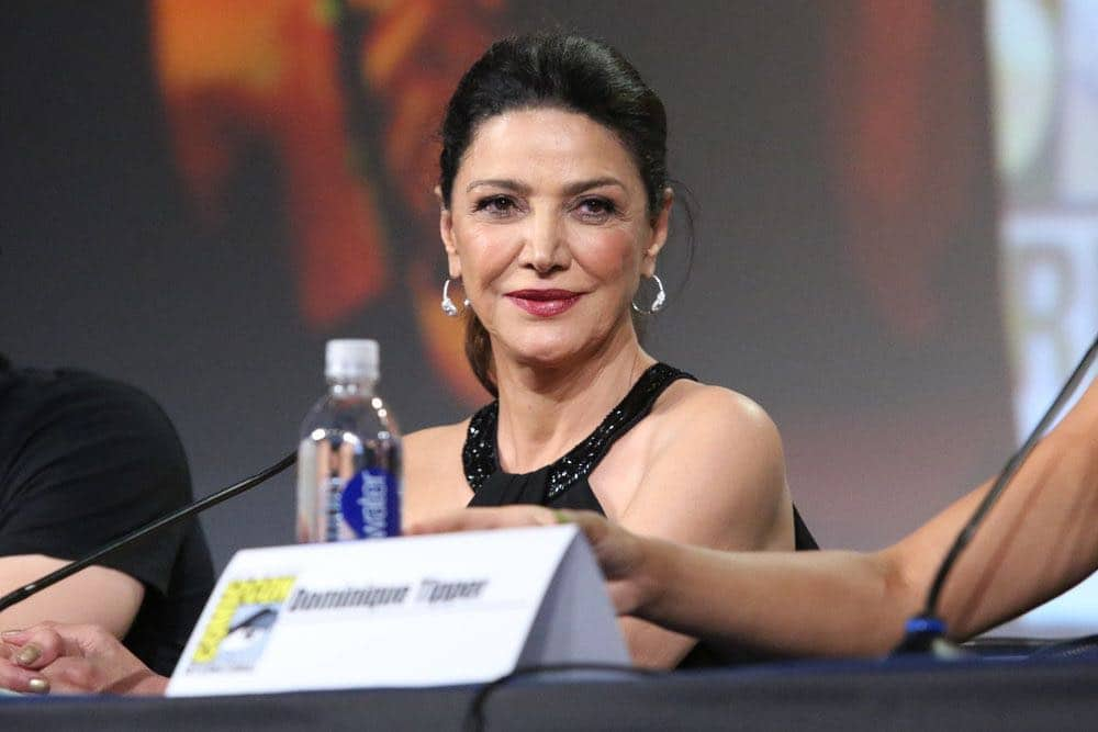 "COMIC-CON INTERNATIONAL: SAN DIEGO -- ""The Expanse Panel"" -- Pictured: Shohreh Aghdashloo -- (Photo by: Evans Vestal Ward/Syfy)"