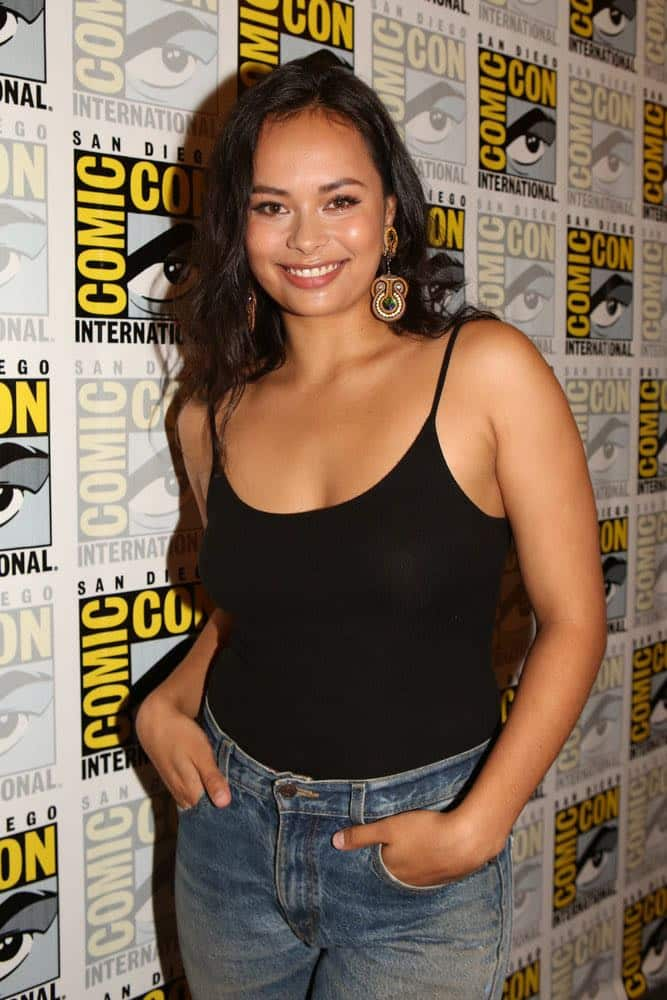 "COMIC-CON INTERNATIONAL: SAN DIEGO -- ""The Expanse Press Room"" -- Pictured: Frankie Adams -- (Photo by: Evans Vestal Ward/Syfy)"