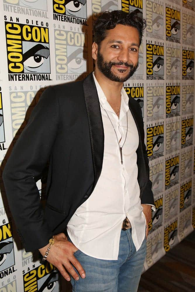"COMIC-CON INTERNATIONAL: SAN DIEGO -- ""The Expanse Press Room"" -- Pictured: Cas Anvar -- (Photo by: Evans Vestal Ward/Syfy)"
