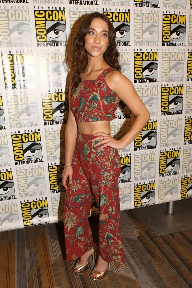 "COMIC-CON INTERNATIONAL: SAN DIEGO -- ""The Magicians Press Room"" -- Pictured: Stella Maeve -- (Photo by: Evans Vestal Ward/Syfy)"