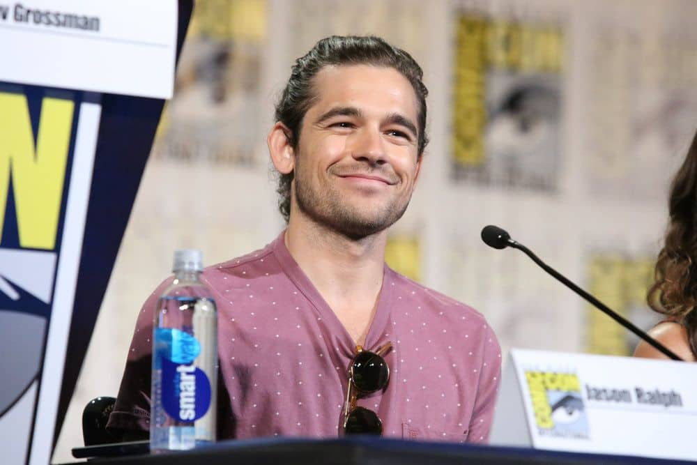 "COMIC-CON INTERNATIONAL: SAN DIEGO -- ""The Magicians Panel"" -- Pictured: Jason Ralph -- (Photo by: Evans Vestal Ward/Syfy)"