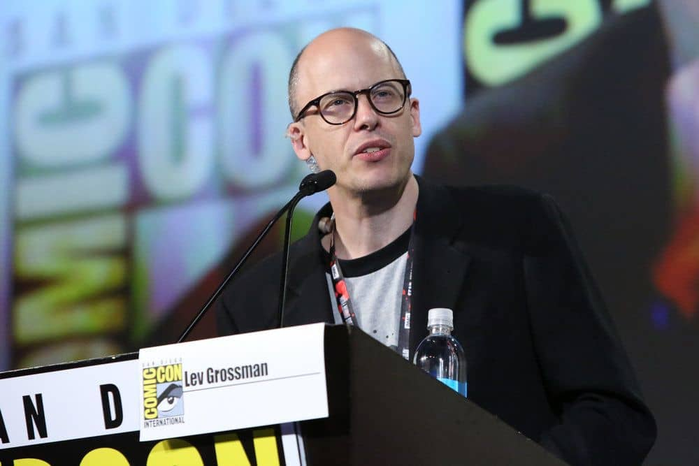 "COMIC-CON INTERNATIONAL: SAN DIEGO -- ""The Magicians Panel"" -- Pictured: Author Lev Grossman -- (Photo by: Evans Vestal Ward/Syfy)"