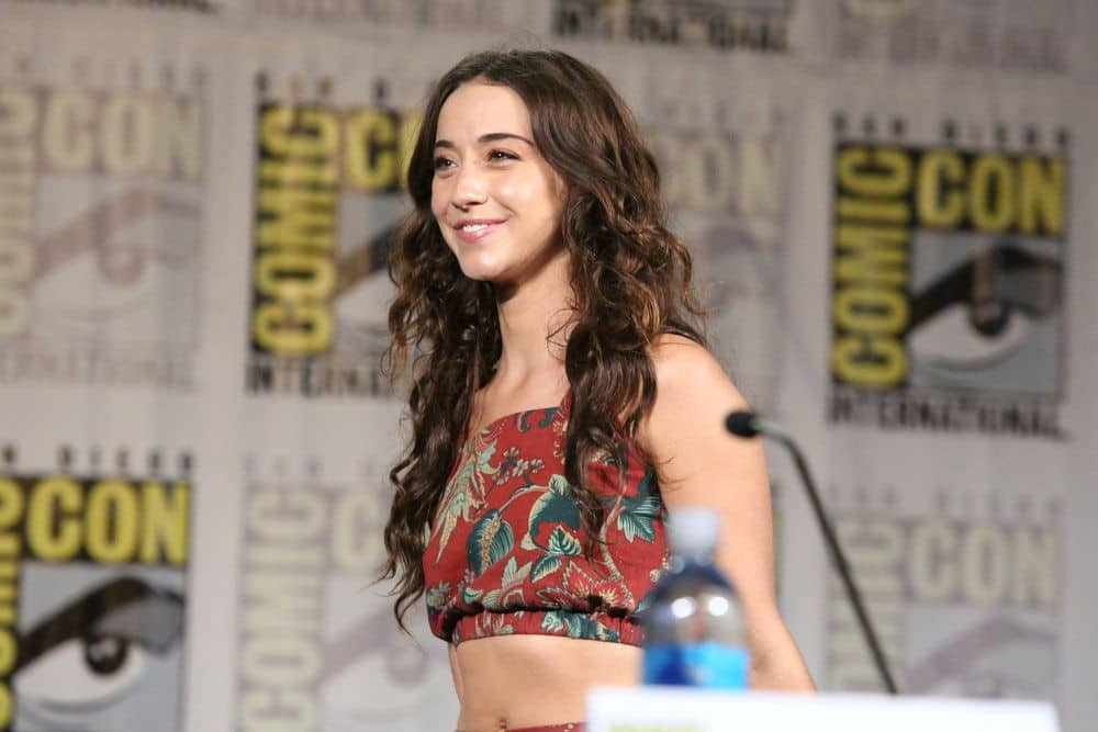 "COMIC-CON INTERNATIONAL: SAN DIEGO -- ""The Magicians Panel"" -- Pictured: Stella Maeve -- (Photo by: Evans Vestal Ward/Syfy)"