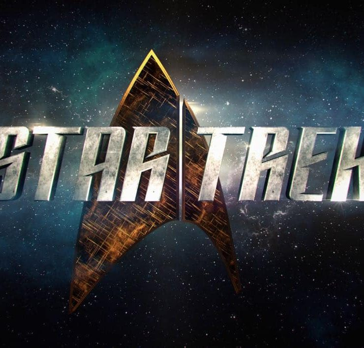 New Star Trek Logo CBS