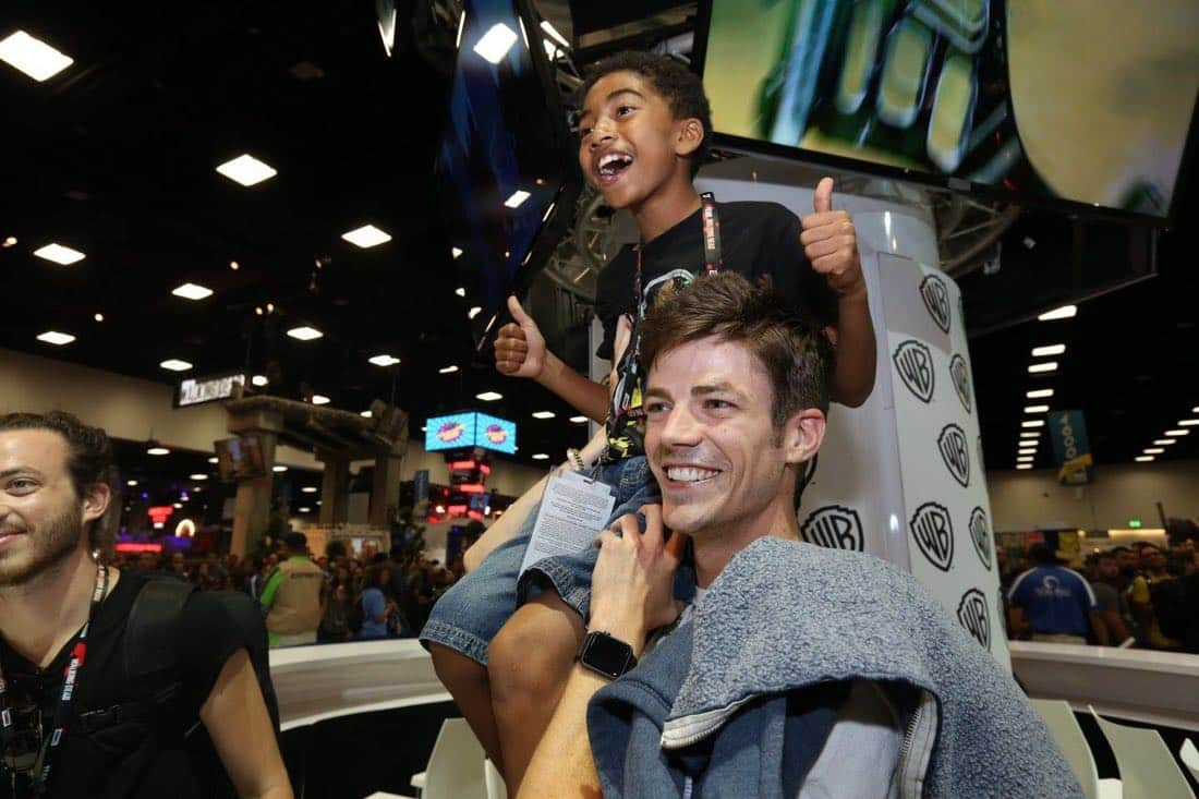The Flash San Diego Comic Con 2016-02