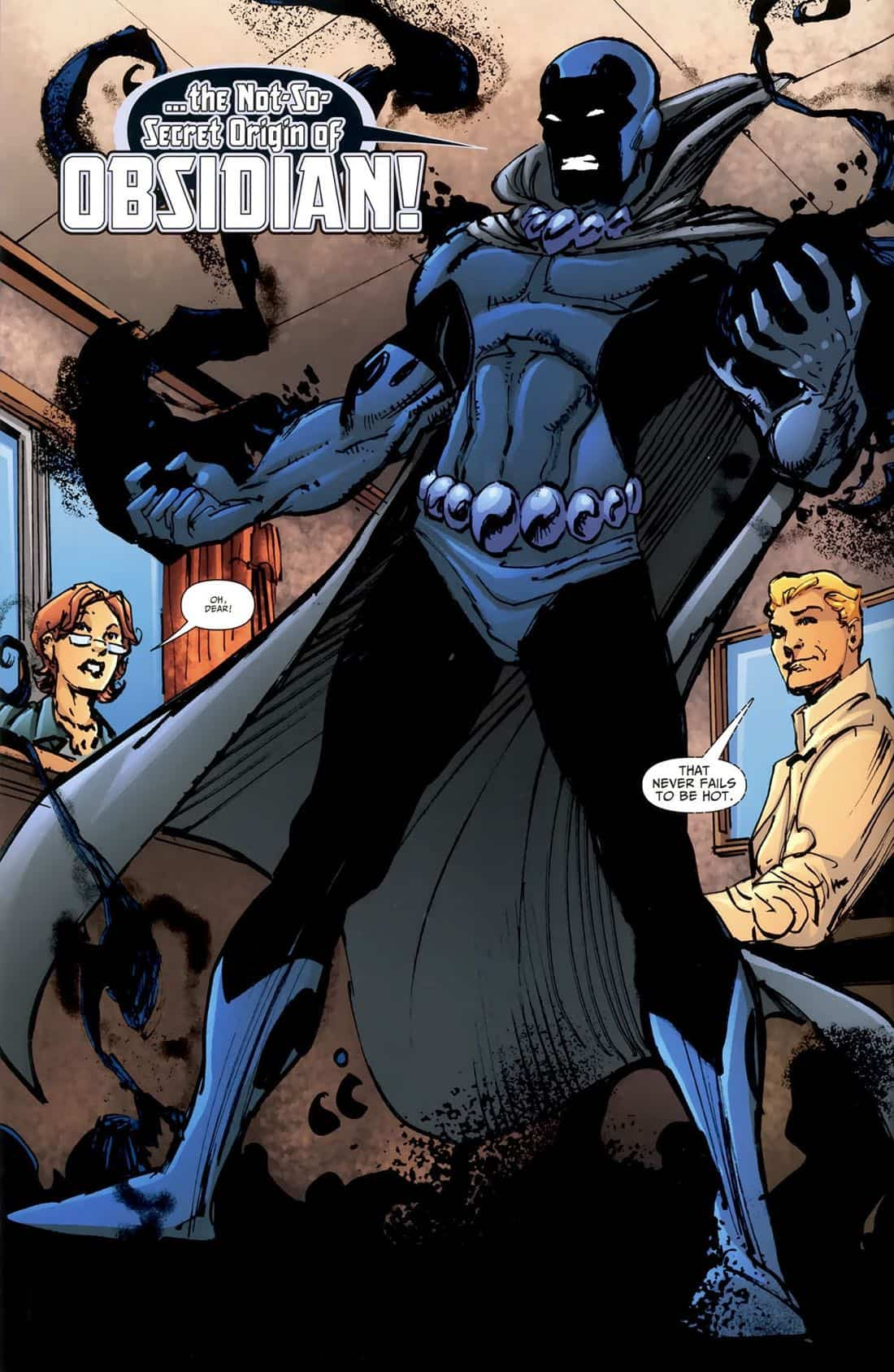 DC Character Art--Obsidian