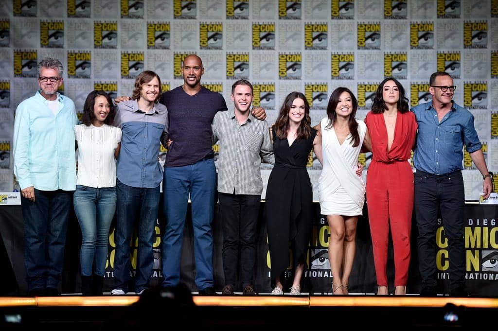 Agents Of SHIELD San Diego Comic Con 2016 01