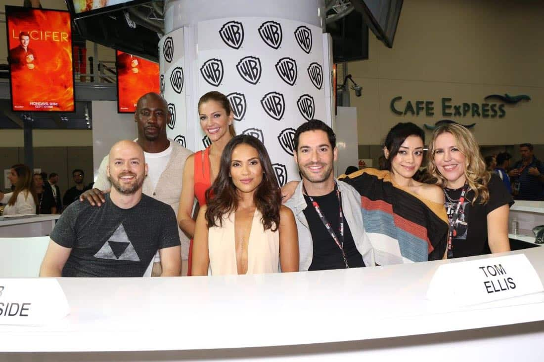 Lucifer Cast San Diego Comic Con 2016 07
