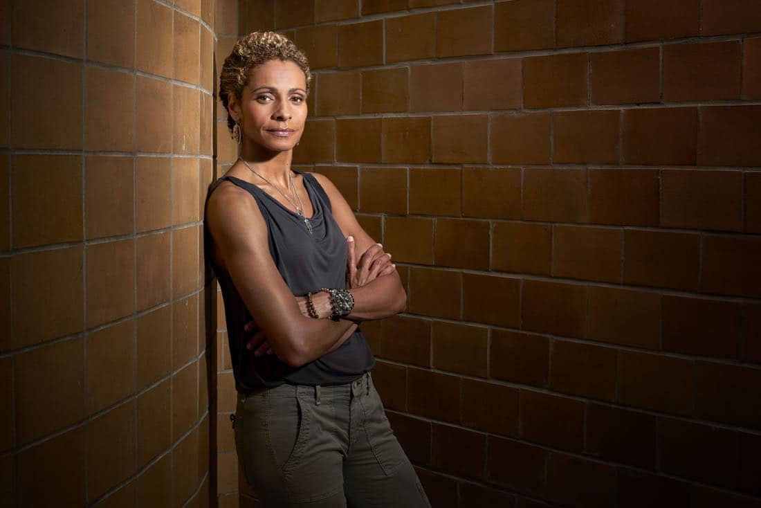 BLINDSPOT -- Season: 2 -- Pictured: Michelle Hurd -- (Photo by: Virginia Sherwood/NBC)