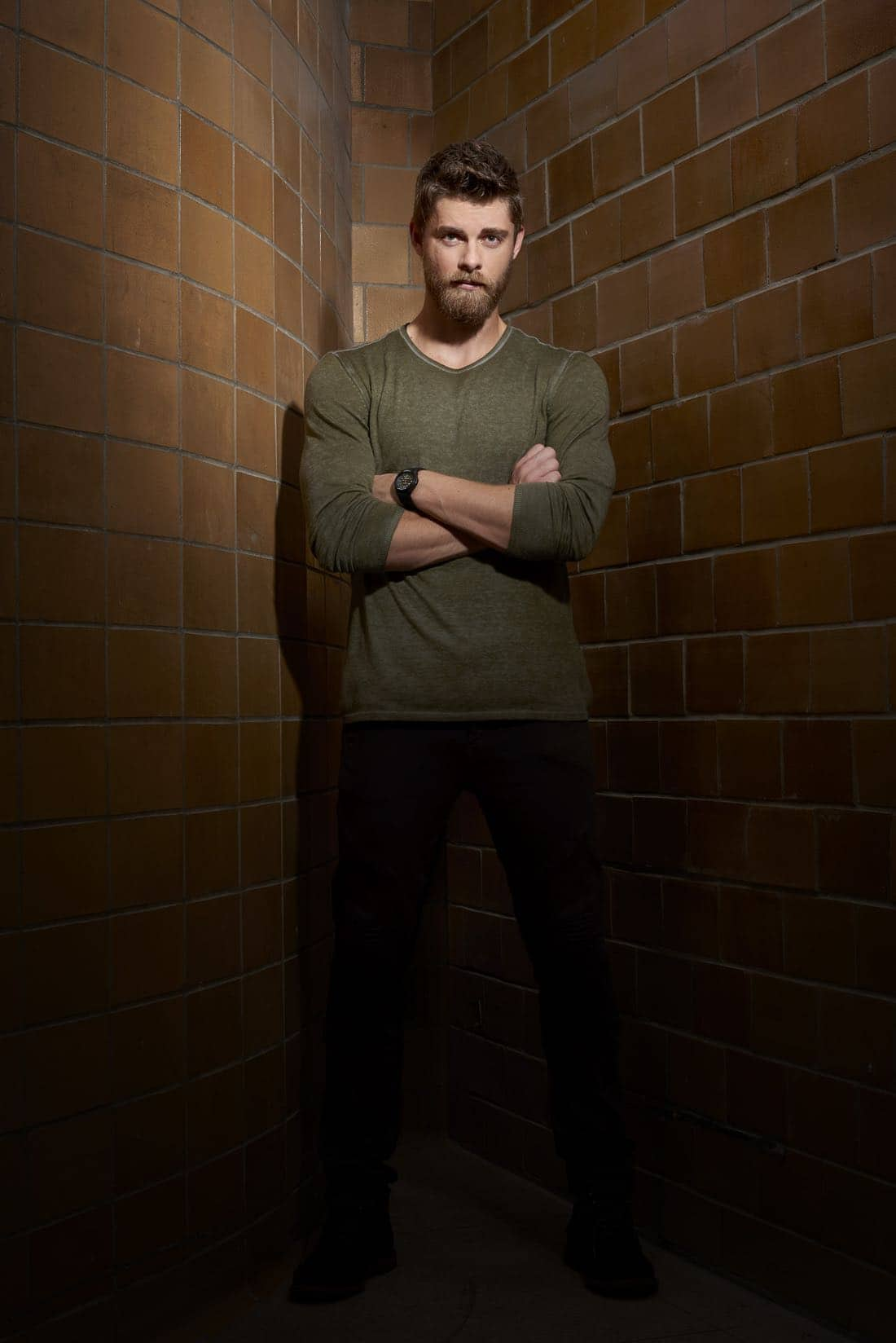 BLINDSPOT -- Season: 2 -- Pictured: Luke Mitchell as Roman -- (Photo by: Virginia Sherwood/NBC)