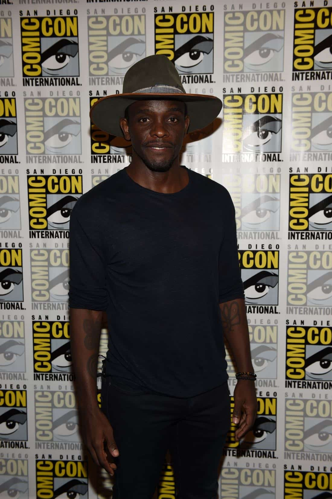FOX FANFARE AT SAN DIEGO COMIC-CON © 2016: GOTHAM cast member Chris Chalk during GOTHAM press room on Saturday, July 23 at the FOX FANFARE AT SAN DIEGO COMIC-CON © 2016. CR: Scott Kirkland/FOX © 2016 FOX BROADCASTING