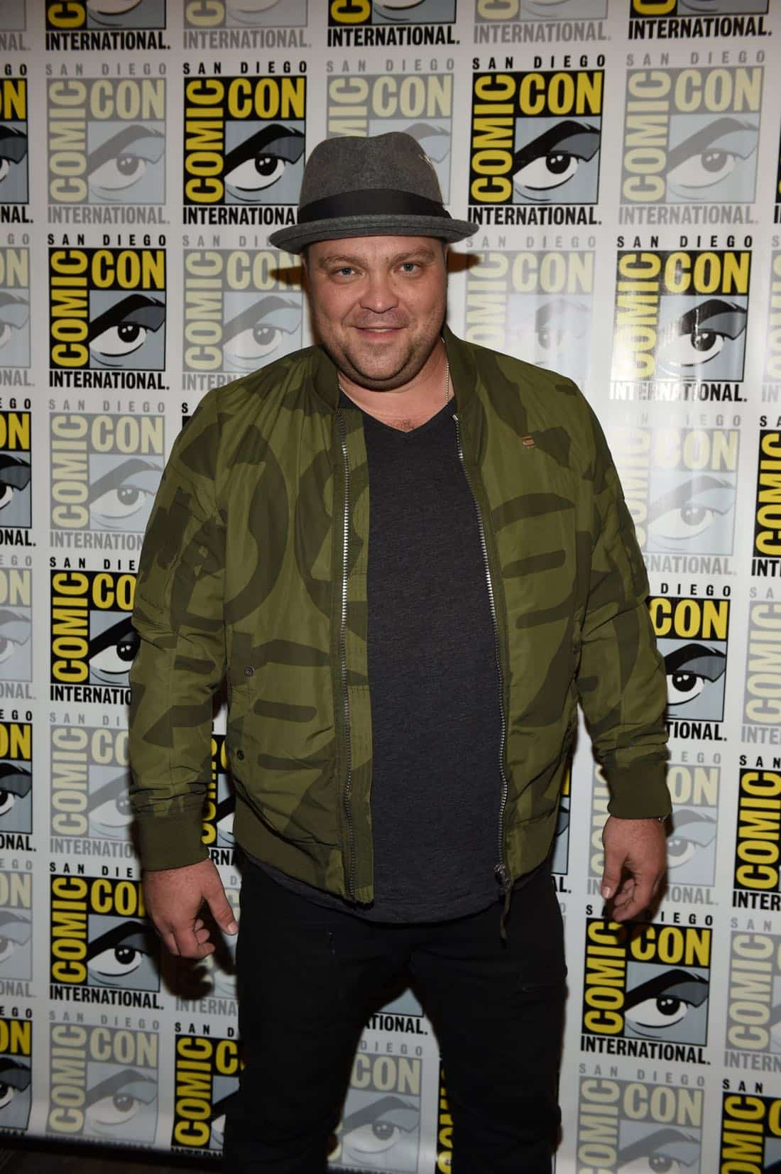 FOX FANFARE AT SAN DIEGO COMIC-CON © 2016: GOTHAM cast member Drew Powell during GOTHAM press room on Saturday, July 23 at the FOX FANFARE AT SAN DIEGO COMIC-CON © 2016. CR: Scott Kirkland/FOX © 2016 FOX BROADCASTING