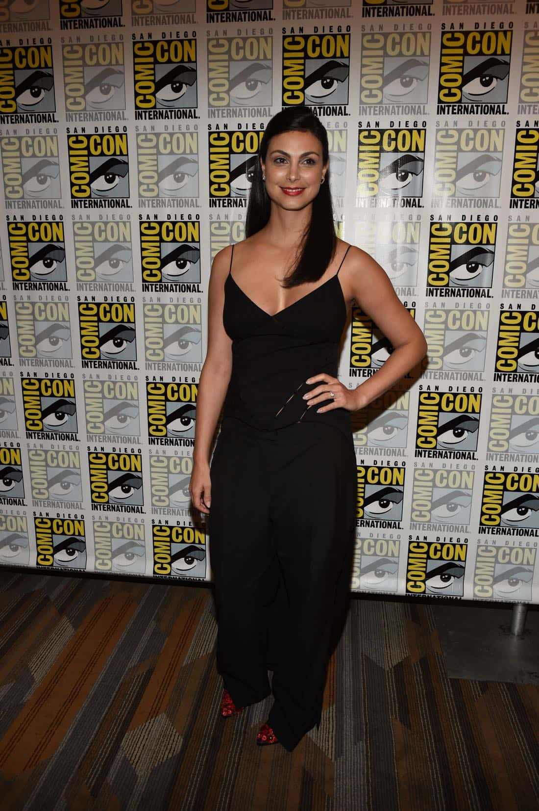 FOX FANFARE AT SAN DIEGO COMIC-CON © 2016: GOTHAM cast member Morena Baccarin during GOTHAM press room on Saturday, July 23 at the FOX FANFARE AT SAN DIEGO COMIC-CON © 2016. CR: Scott Kirkland/FOX © 2016 FOX BROADCASTING