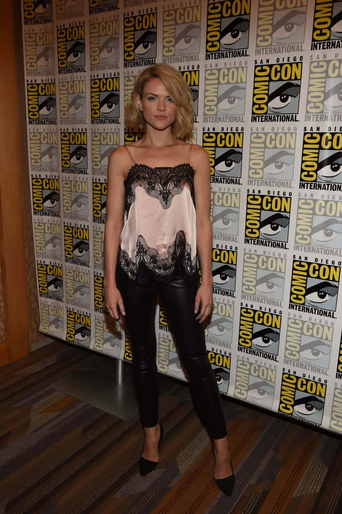 FOX FANFARE AT SAN DIEGO COMIC-CON © 2016: GOTHAM cast member Erin Richards during GOTHAM press room on Saturday, July 23 at the FOX FANFARE AT SAN DIEGO COMIC-CON © 2016. CR: Scott Kirkland/FOX © 2016 FOX BROADCASTING