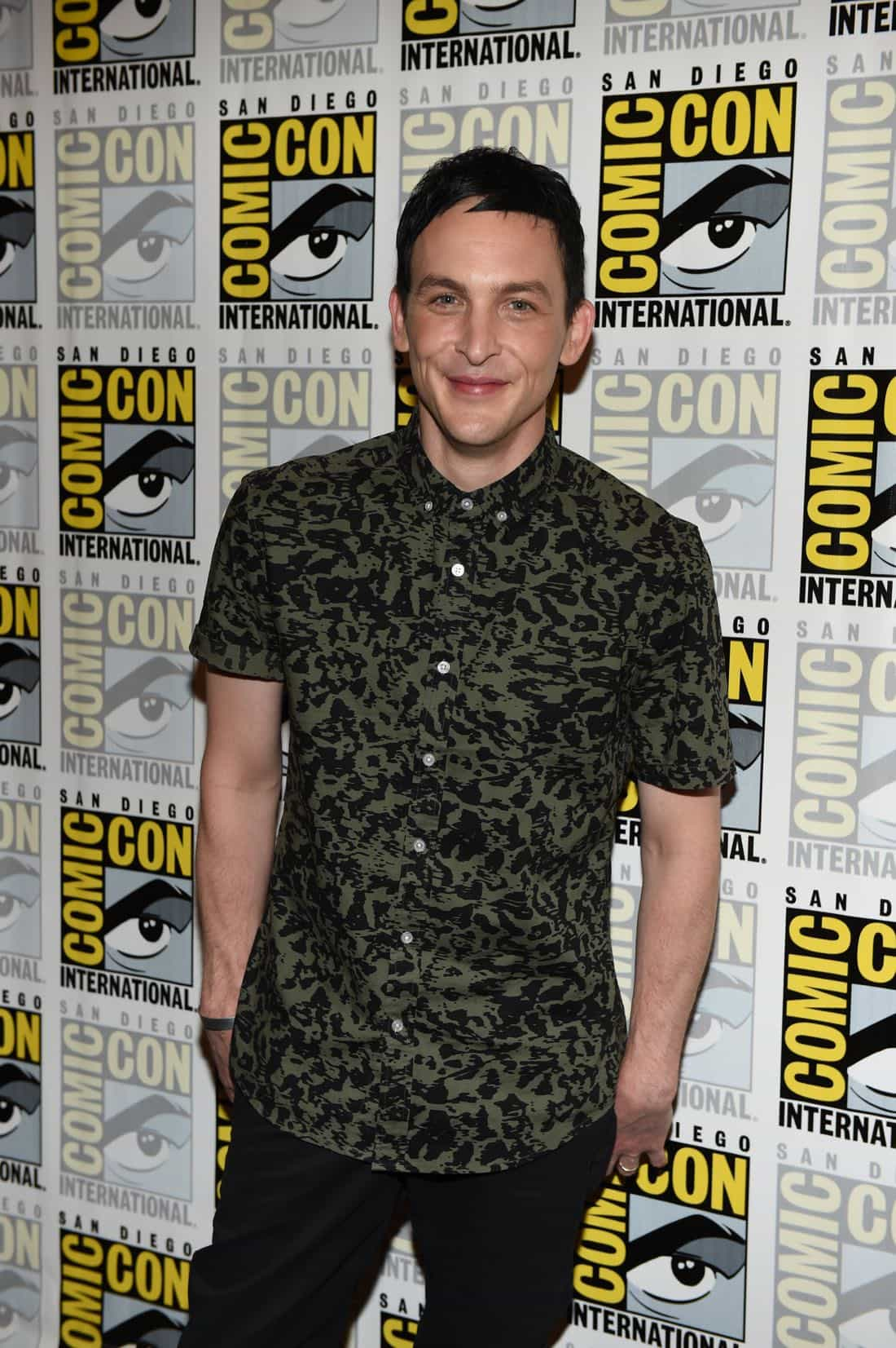 FOX FANFARE AT SAN DIEGO COMIC-CON © 2016: GOTHAM cast member Robin Lord Taylor during GOTHAM press room on Saturday, July 23 at the FOX FANFARE AT SAN DIEGO COMIC-CON © 2016. CR: Scott Kirkland/FOX © 2016 FOX BROADCASTING